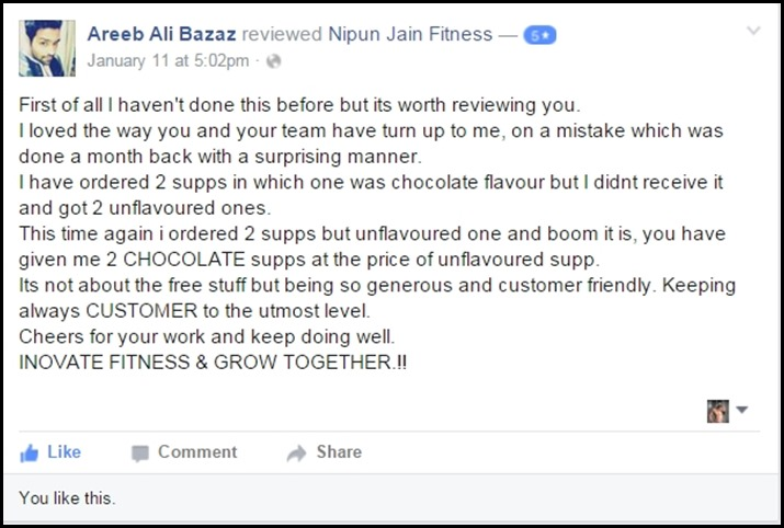 Areeb Ali Bazaz Page Review